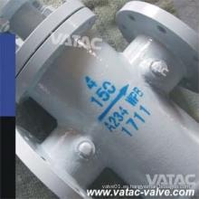 Asme B16.34 Reborde de RF Wpb / Ss304 / Ss316 / Ss316L Colador de cesta