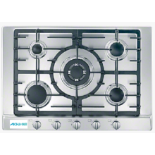 Table de cuisson à gaz 5 feux pour commodité de cuisson