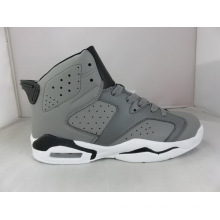 Grey Basketball Shoes Hollow out Sneaker