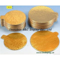 Panneau de gâteau ondulé d'or, panneaux de gâteau de relief, panneau de gâteau découpé avec des GV (B & C-K030)