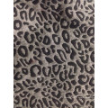 Tissu jacquard classique en peau de léopard avec motif léopard