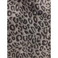 Classic T/C leopard skin design jacquard fabric