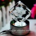 new product ! 3D Laser crystal rose for home decoration gifts