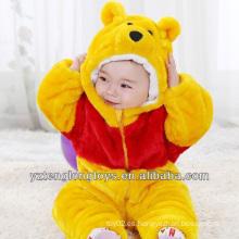 Promocional animal diseño peluche bebé mameluco