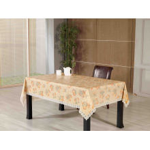 PVC Printed Tablecloth with Russian Style (TJG0069)