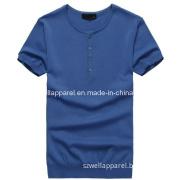 Man Fashion Knitting V Neck Coat (SZWA-0710)