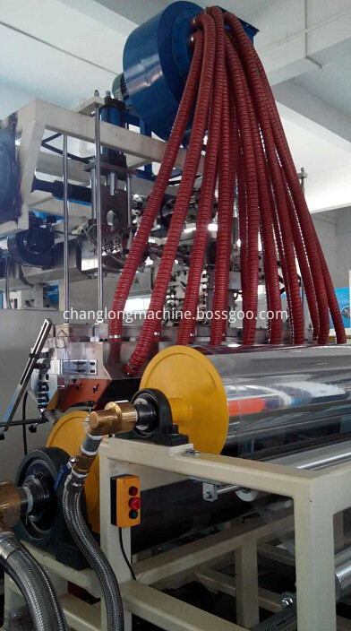 stretch film making machine