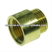Brass Straight Male Female Sanitary Ware Nipple