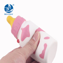 Nuevo producto Squishy Feeding-bottle Anti Stress Squishy Soft PU Alimentación-botella