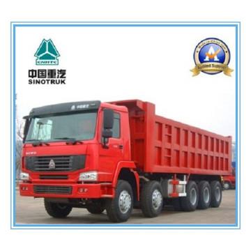 336HP Sinotruk / Cnhtc HOWO 10 X 6 Camión volquete / basculante pesado Zz3537n30d 7A / Now