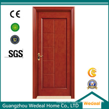 Compuesto de puerta de madera compuesta en varios paneles para proyecto