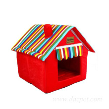 dog room carries cardboard dog house