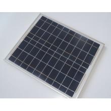 Module solaire cristallin de panneau solaire de 40W Poly avec FCC de Ce 10 ans de garantie