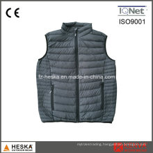 Mens Light Weight Waistcoat Nylon Down Puffer Vest