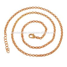 Цепочка 18k золото моды покрытием