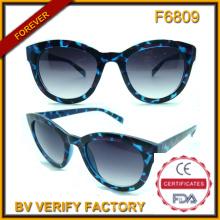 F6809 nuevo estilo gafas de sol para dama China fábrica