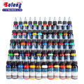 Solong tattoo permanent makeup ink 60 colors tattoo pigment set