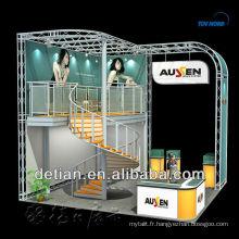 stand de double pont pour l'exposition