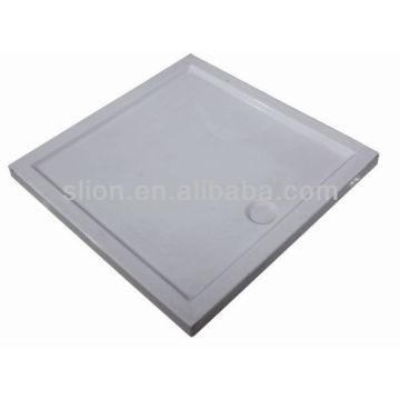 Pratos de duche quadrados de acrílico de alta qualidade, base de chuveiro, panela de chuveiro