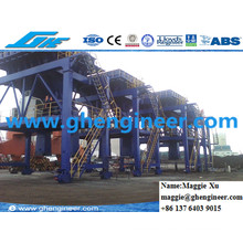 Dustproof Hopper on Port for Bulk Material