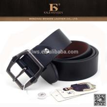 Cinturón ancho negro de cuero Formal PU