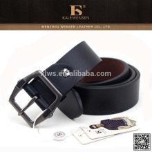 Formal Pu leather black wide belt