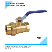 Female Threaded Brass Ball Valve with Union