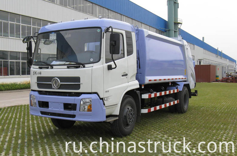 12Ton compactor garbage truck
