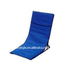 Faltbare Isomatte und Strandsitz