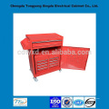 china factory precision custom storage metal tool box with wheels