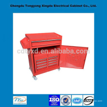 china factory precision custom storage metal tool box with wheels