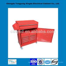 фабрики Китая ящик для инструмента точность пользовательских хранения металла с колесами