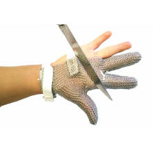 Three Fingers Stainless Steel Wrist Glove