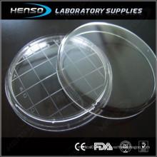 Plat de Petri stérile 65x15mm avec zone de comptage