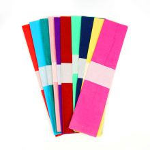10 Color Mixed Colorful Crepe Paper Wax Paper for Flower Packaging Artwork Paper