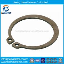 Chinesischer Lieferant Bester Preis DIN471 Kohlenstoffstahl Sicherungsringe für Wellen-Normaler Typ und schwerer Typ mit Dacromet / verzinkt