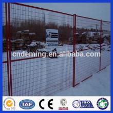 Revêtement en poudre de DM Prix d'usine Anping Clôture provisoire de Canada
