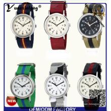 Yxl-123 Simple Design Nylon Nato Ladies Dress Reloj de pulsera de cuarzo Sport Casual Lady Vogue Men Watches Factory