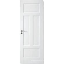 A porta composta branca personalizada de venda quente do MDF, branco aprontou a porta