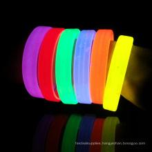 glow wristband / wide glow bracelet