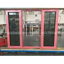Fenêtre en alliage d'aluminium en taille personnalisée