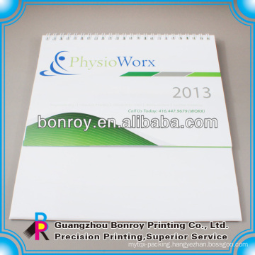 Custom printable paper desk calendars 2014