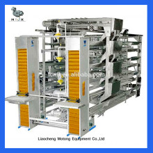 Automatic quail layer cage
