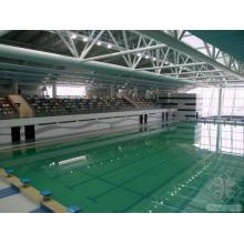 Design Stahl Space Frame Schwimmbadüberdachung