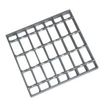 Manufacturers custom hot-dip galvanized special-shaped steel grating