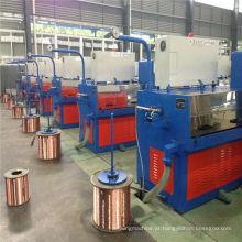 Equipamento de fabricação de cabos 22DT (0.1-0.4) Máquina de desenho de cabos finos de cobre com ennealing