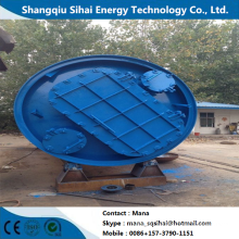 High-yield used tire cracking refining equipment