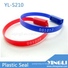 Sellos de seguridad de plástico para trabajos livianos de longitud fija (YL-S210)