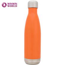 Vente chaude coutume 350 ml acier inoxydable de bouteille d'eau de preuve de fuite de voyage