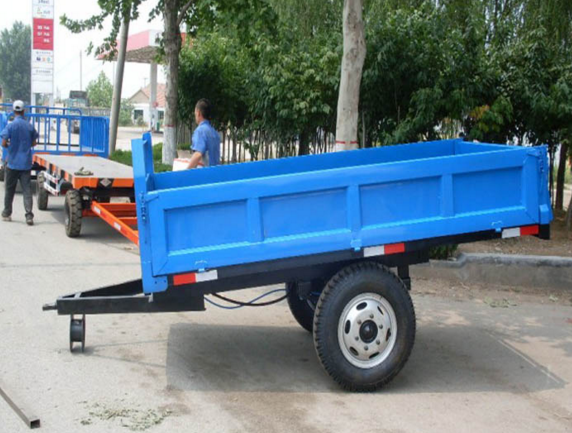 Air Brake Hydraulic Dump Farm Trailer